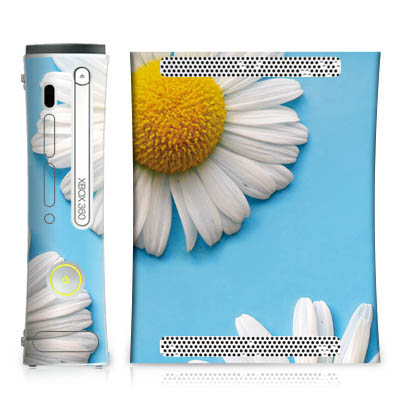 Design-Schutzfolie Daisies fr Xbox 360