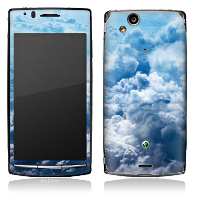 Design-Schutzfolie On Clouds für Xperia Arc