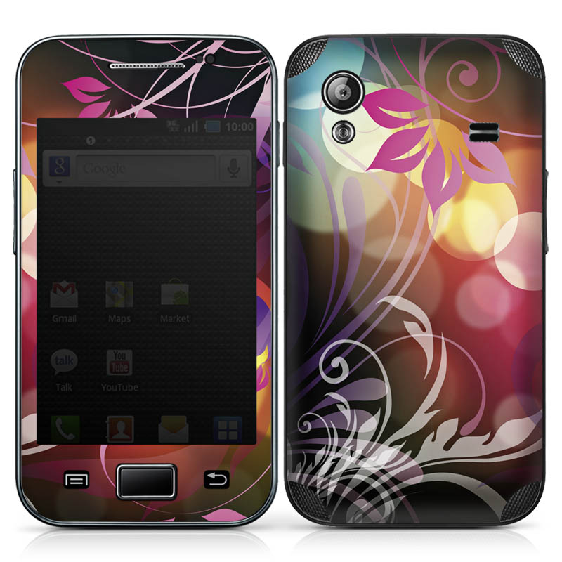 Design-Schutzfolie Surreal Lights für Galaxy Ace S5830