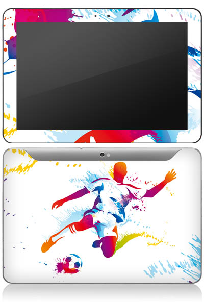 Design-Schutzfolie Strmer fr Galaxy Tab 10.1 P7500