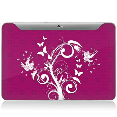 Design-Schutzfolie My Lovely Tree fr Galaxy Tab 10.1N P7501 Rckseite