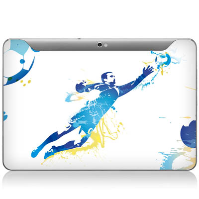 Design-Schutzfolie Keeper fr Galaxy Tab 10.1N P7501 Rckseite
