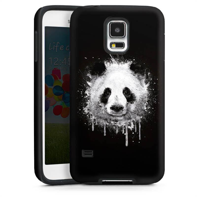 badbugs panda f r tough case gl nzend f r samsung galaxy. Black Bedroom Furniture Sets. Home Design Ideas