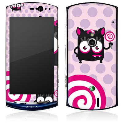 Folien Skins Handy Sony Ericsson Xperia Neo Design Cover Schutz Designfolien